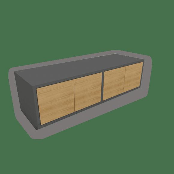 Sideboard mit Türen