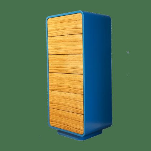 Louis Castello - Highboard Valon: design schubladenschrank highboard