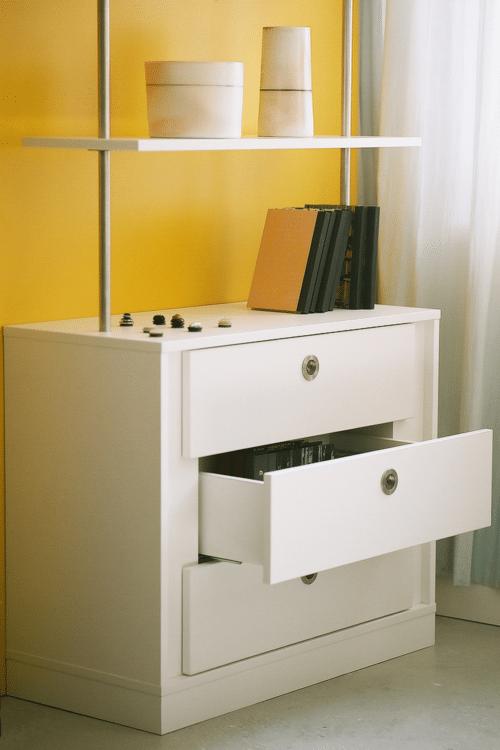 Louis Castello - Design-Regal mit Schubladen: design regal schublaeden louis castello 2