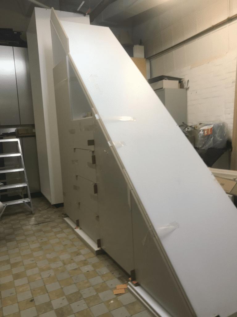Tischlerei: moebel nach mass treppenschrank louis castello