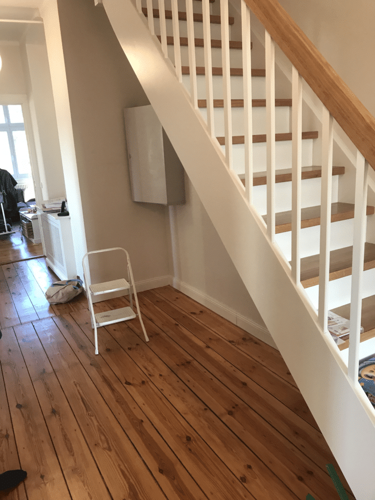 Tischlerei: treppenschrank planungsvorlage
