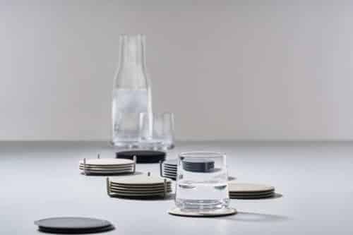 Zone Denmark - Glasuntersetzer: glasuntersetzer set zone